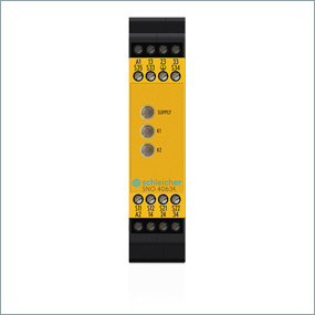 Basic Unit for emergency stop, safety gate applications